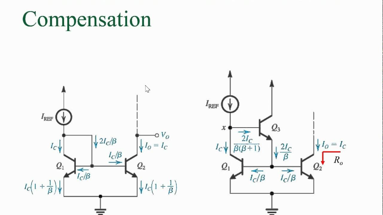 電子學二Ch6 5改良式電流鏡電路 - YouTube