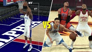 CAN A 99 OVERALL GIANT BEAT THE BEST PLAYERS IN THE LEAGUE COMBINED? NBA 2K17 GAMEPLAY!