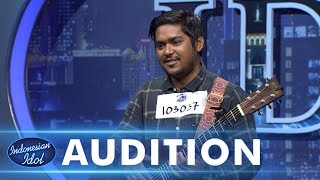 Ahmad Abdul menyanyikan lagu Lost Star dari Adam Levine - AUDITION 1 - Indonesian Idol 2018
