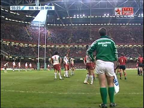 Heineken Cup Final 2006 - Biarritz vs Munster, 2nd half
