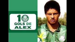 10 Gols de ALEX (Palmeiras)