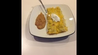 Creamy chicken enchiladas made with campbells cream of chicken soup and yummy Kraft shredded cheese!