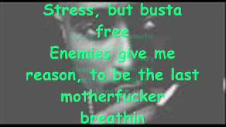 2pac Breathin' (Lyrics)