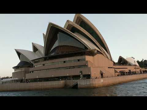 Magnificent Sydney Opera House from the Waterview
