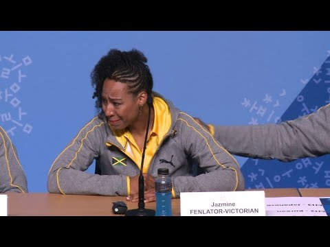 Oly-2108: Jamaican bobsledder in tears over Olympic journey