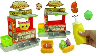 Shopkins Hang At Grossery Gang Horrid Hot Dog Machine Series 2 Playset