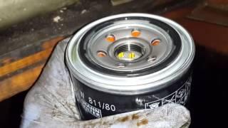 видео Замена масла в двигателе Митсубиси