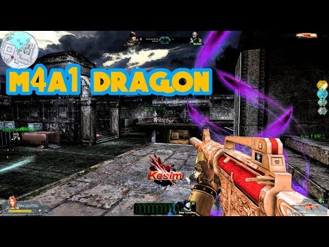 First Blood M4A1 Dragon Tanıtımı (Mutant&Pve) 🔥