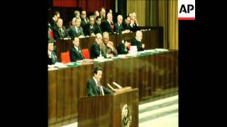 SYND 28 2 76 CONGRESS BATISTA AND BERLINGUER ADDRESS