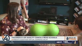 Hazardous air quality cancels Mead schools