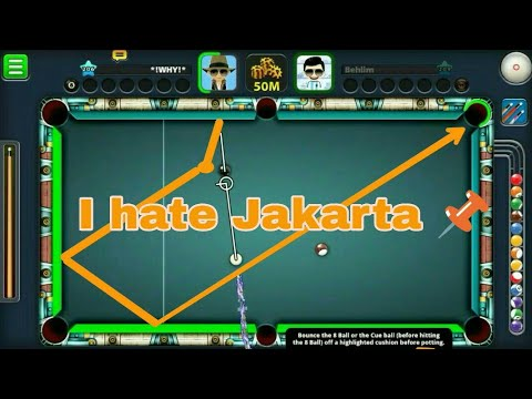 8Ball Pall Only Berlin all players jakarta in your face