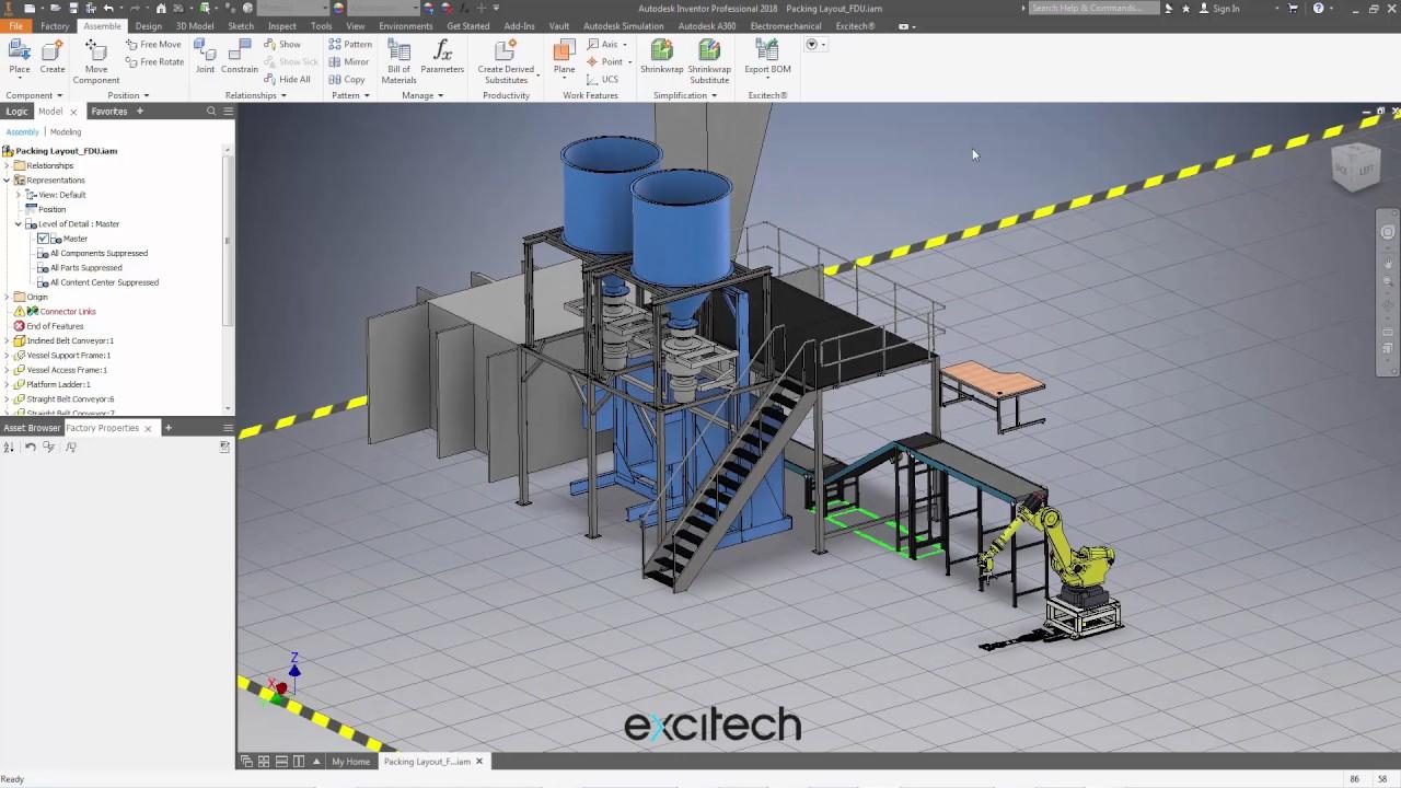 Autodesk factory utilities 2018 insert model vs place for Autodesk home design