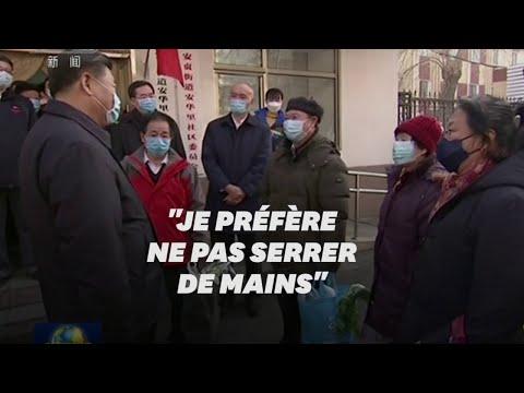 Masqué, Xi appelle à des mesures plus fortes contre le coronavirus
