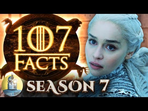 107 Game of Thrones Season 7 Facts YOU Should Know - Cinematica  game of thrones season 7 episode 7
