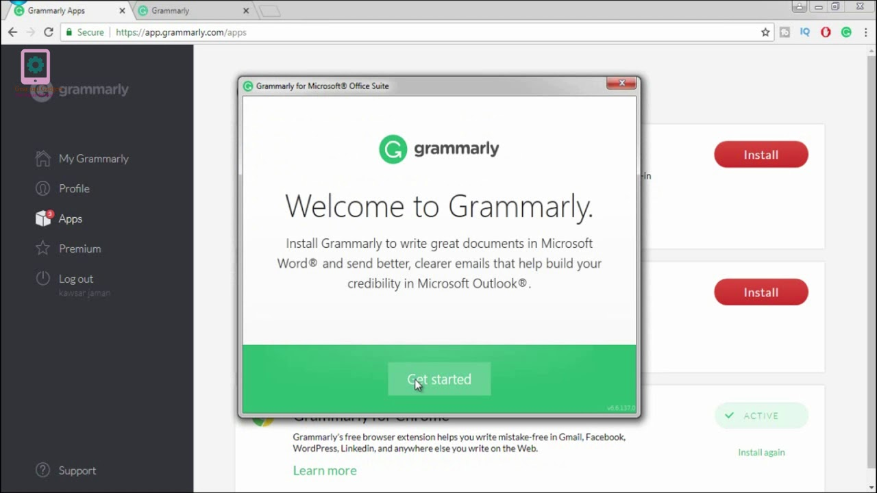 Grammarly: The world's best Grammar and spell checker for Microsoft office  and online