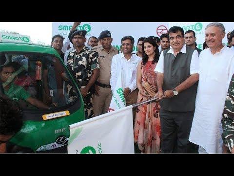 1,000 e-rickshaws flagged off in Gurugram, vehicles to benefit Metro commuters