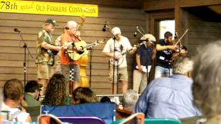 Jake Krack and the Whoopin Holler Band; Hell Amongst The Yearlings; Galax Aug 10, 2013