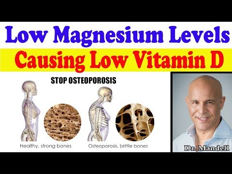 Low Magnesium is Causing Low Vitamin D Levels in Your Body (Important!!!) - Dr Alan Mandell, DC
