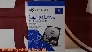 Unboxing with @fettouhi Seagate Game Drive for Playstation 2TB