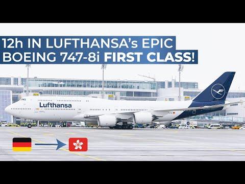 TRIPREPORT | Lufthansa (FIRST CLASS) | Boeing 747-8i | Frankfurt - Hong Kong