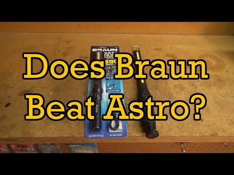 Does Harbor Freight's Braun Beat Astro's 40SL?