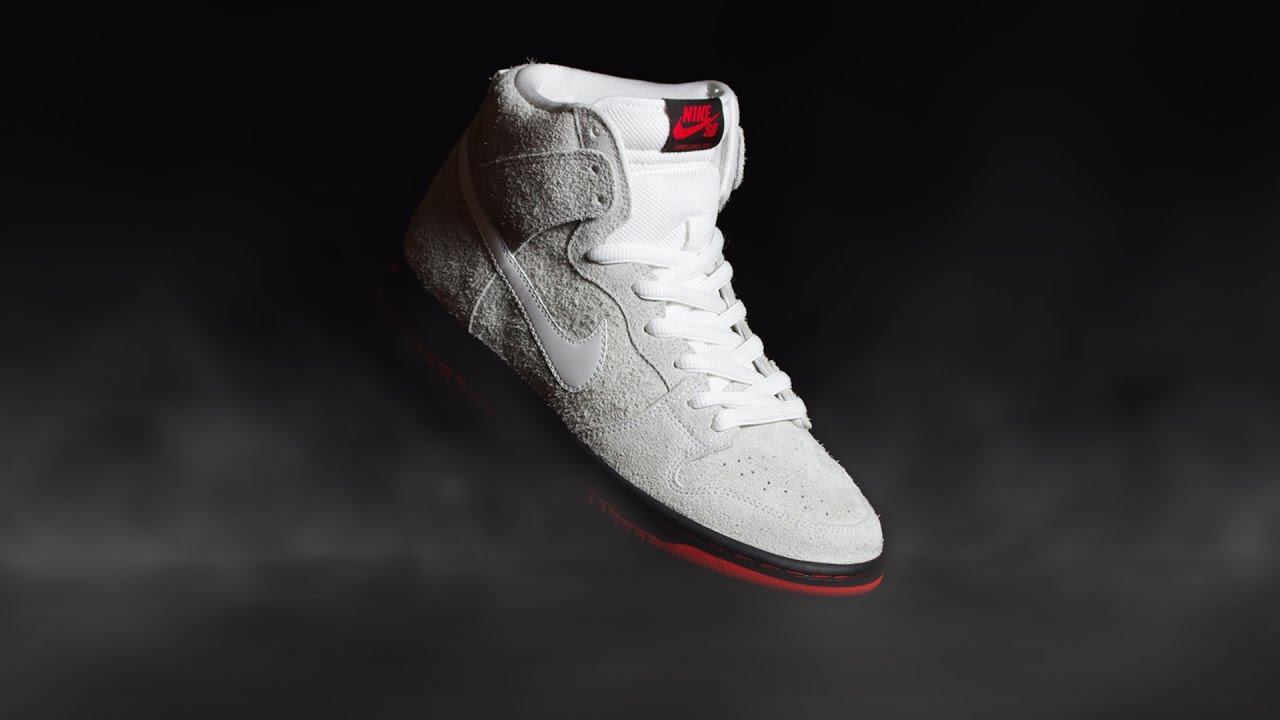 "b3f083af5480 Nike SB x Black Sheep ""Wolf In Sheep s Clothing"" Dunk High Traditional  Quickstrike Preview - YouTube"