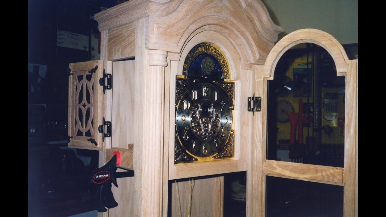 DIY Oak Grandfather Clock - Create a Family Heirloom - YouTube