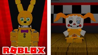Como obter Primavera Bonnie e plush Baby em Roblox Ultimate Custom noite RP