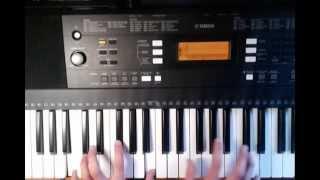 Король и шут - на краю. Видеоурок на клавишах (синтезатор) Cover