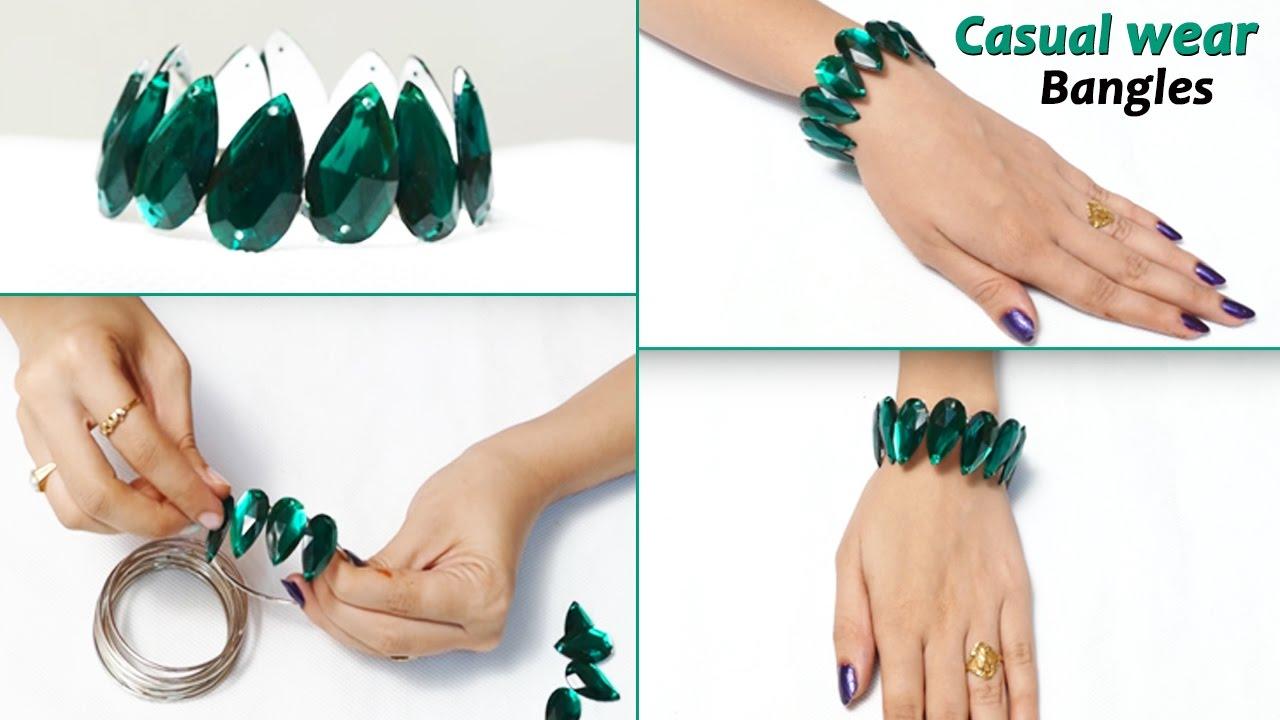 3 DIY Bracelet for Girls | Easy Bracelets for Kids / Beginners ...