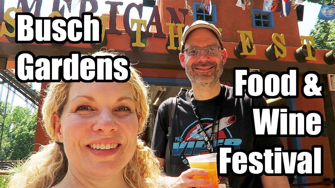 Busch gardens food wine festival 2017 williamsburg virginia youtube for Busch gardens food and wine 2017