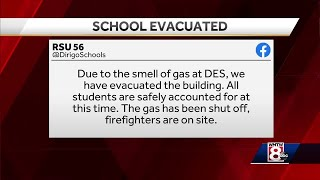 Smell of gas prompts students to evacuate elementary school