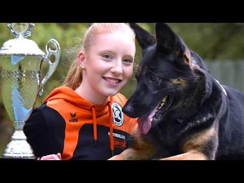 Kim Bokdam uit Haakbergen negende op de wereld ranglijst agility voor herdershonden tv