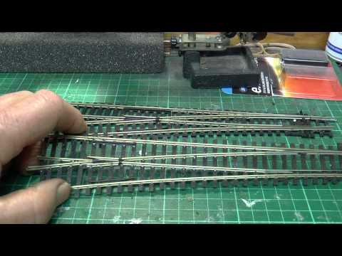 Dave`s Model Railway Points Problem Continued