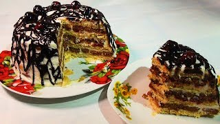 Торт Панчо без выпечки Безумно Вкусно и Просто. Pancho Cake