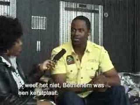 Brian McKnight - interview in Amsterdam