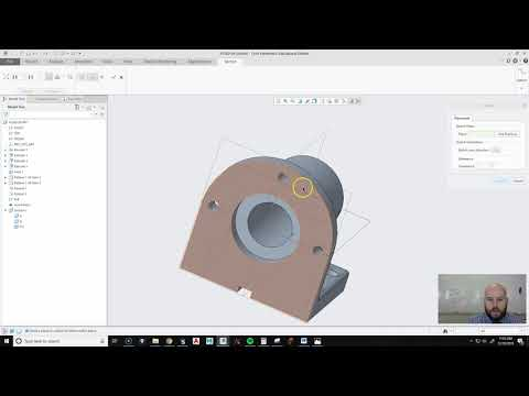 CREO: CREATING A SECTION VIEW