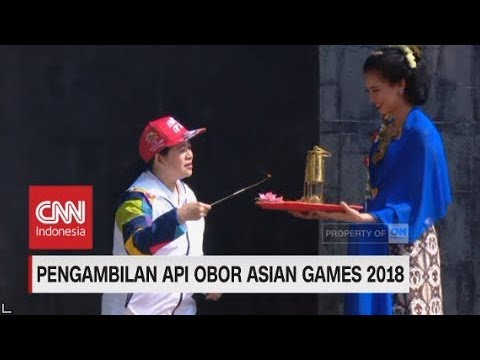 Pengambilan Api Obor Asian Games 2018