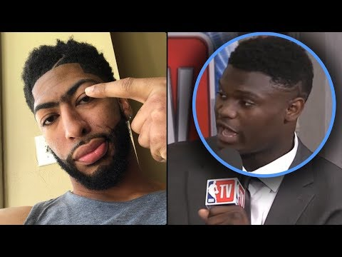 """Zion Williamson Tells Media """"TRADE ME TO THE KNICKS OR IM NOT PLAYING! & Anthony Davis SUPPORTS HIM"""
