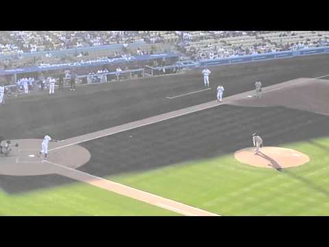 Darryl Strawberry facing Orel Hershiser-5/10/14