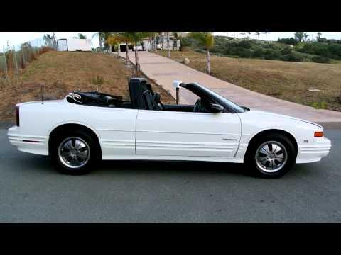 1994 Oldsmobile Cutlass Convertible Roadster SL GM W-Body 1 Owner 36K Orig Mile Time Capsule!