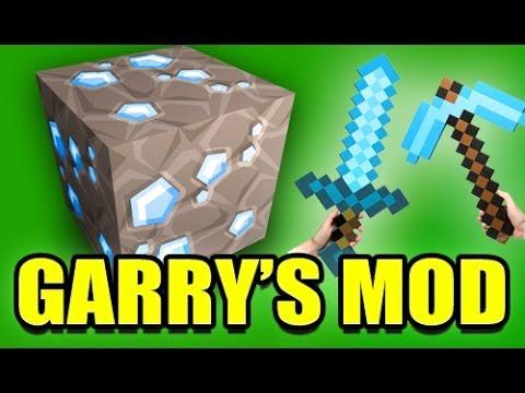 Gmod MINECRAFT Weapons Mod! (Garry's Mod) - YouTube