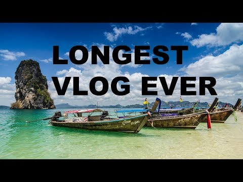 My trip to South East Asia all in one video (Raya)