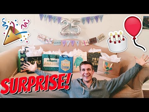 Wife Surprises Husband with Special Birthday Surprise! 🎂🎉🎁🎈