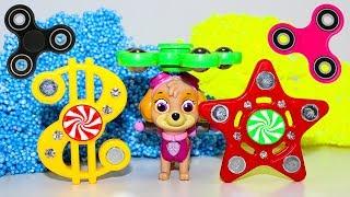 Игры для детей Щенячий патруль все серии про СПИННЕР Игрушки для детей Развивающие мультфильмы