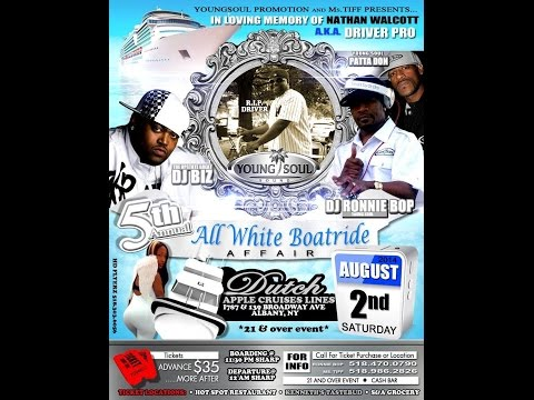 Driver Pro All white Boat-ride Affair - Young Soul & Ms. Tiff Promotions