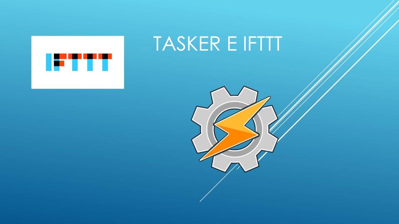 Tasker e IFTTT - YouTube