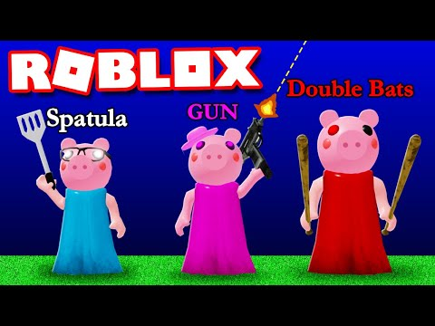 20 NEW PIGGY Weapons That Everyone Wants In PIGGY In Roblox!