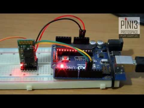 Configuring The  HC-05 Bluetooth Module with AT Commands