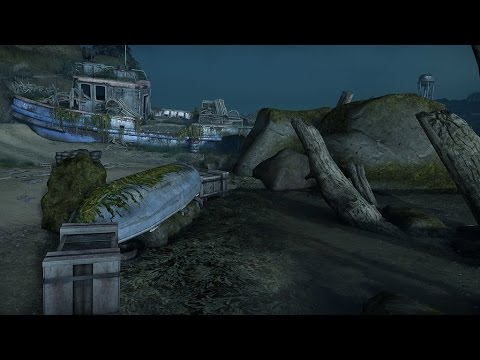 The Last Of Us Remastered Ps4 Beach Dlc Map Interrogation - Last-of-us-dlc-maps